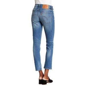 Vtg 70's Levis 505c Womens Slim Fit Cropped Jeans